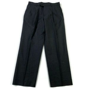 Ermenegildo Zegna Career Dress Pants 100% Wool